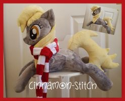 mlp plushie commmission Derpy Hooves available by CINNAMON-STITCH