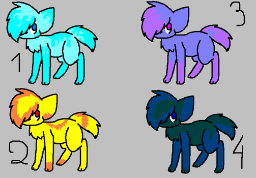 Adoptables 3 patch [Grown up cats] by CammysAdoptables