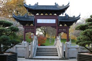 Chinese garden Stock 38 by Malleni-Stock