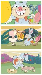 The ugliest easter bunny by joseanderson