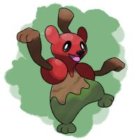 Berry Fakemon by TRspicy