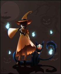 Halloween Theme Thyme And Marja by LightDragon777