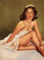 Pin-up Study 2 Day #156 by AngelGanev