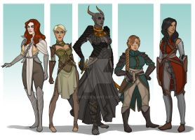 Commission: Inquisitors by Enife
