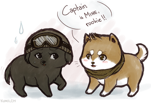 BSAA Puppies by Kumilch