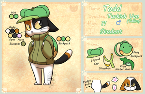 Todd :: Kitty Katty City App. by RainbowFilled