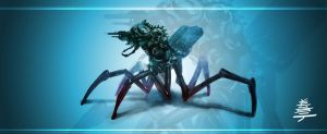 Insect Recon Mech by Veus-T