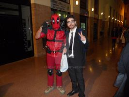 Kururu  and Deadpool [Cosplay #Mangafest15] by DrPingas