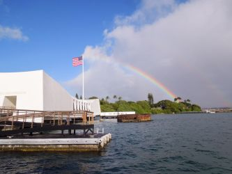 The U.S.S. Arizona Memorial by WriterOfWolves