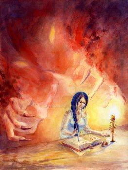 The book of dreams and one of them by jeyando