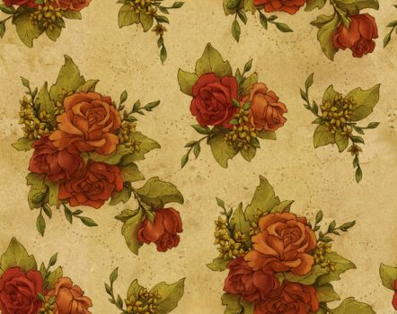 floral wallpaper by insurrectionx