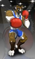 Balrog Furred Strike by Foot-paws