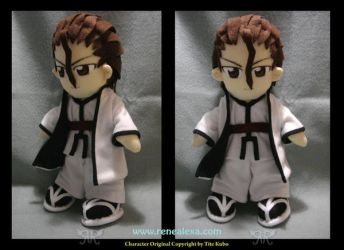Commission_ Aizen Plushie by renealexa-plushie