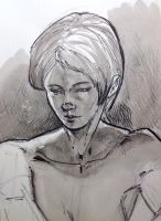 Ink Wash Study by aminamat