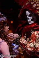 Red Death Mask ~ Phantom of the Opera by Phantasma-Studio