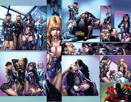 Birds of Prey issue 3 page 2-3 by ToolKitten