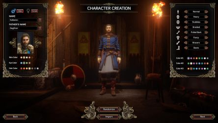 Expeditions Viking Character Creation Male by NatteRavnen