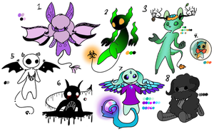 Small Demons Adopts (3/8 OPEN) by pepricaMint