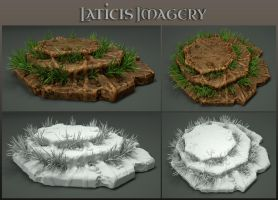 Laticis Imagery FREE Object - Rock Platform by Laticis