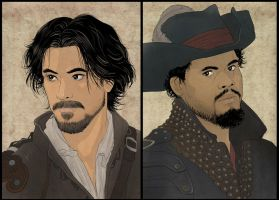 Porthos and Aramis by Autumn-Sacura