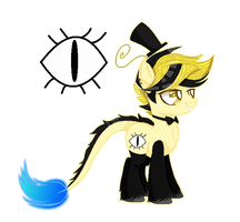 | + Bill Cipher {MLP/Base/Ponification} + | by TheChoccoBear