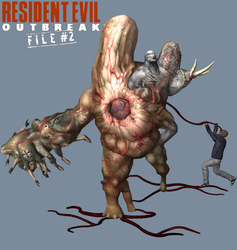 Nyx. Resident Evil Outbreak File # 2 by Tyrant0400Tp