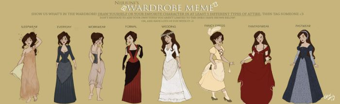 Wardrobe meme by Ninidu
