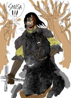 Sandor clegane by Menthes