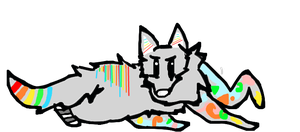 CLOSED** : Rainbow Canine Adopt by Violeta-Adopts
