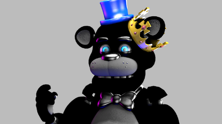 Ronnie The Bear by Kiwikwafter