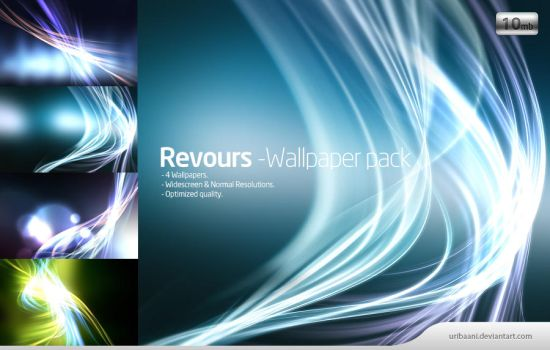 Revours -Wallpaper pack. by Uribaani