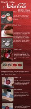 How to make Nuka Cola caps by appleofecstacy