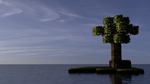 Photorealistic Minecraft Scene by Michael-Contant