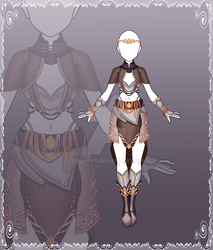 [Close] Adoptable Outfit Auction 133 by Kolmoys