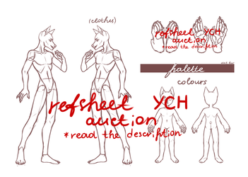 reference sheet YCH by fuqdem