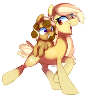 Sisterly love by pepooni
