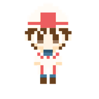 Pixel White Mage Boy by ValChaon