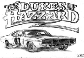 The Dukes Of Hazzard by Razgriss