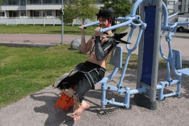 Jecht \ GYM TRAINING TIME BABY BABY!  :D by Elffi