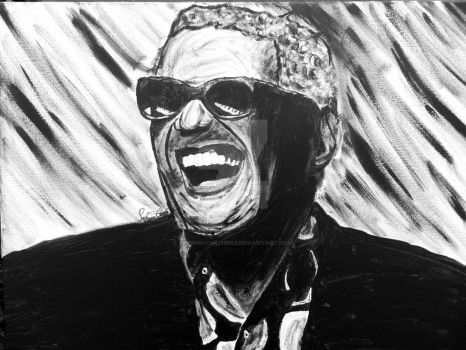Ray Charles - commission final by sabrinacurtis582