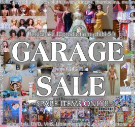 GARAGE SALE spare items ONLY!! by JCproductions