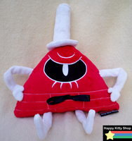 Mad Bill Cipher Plush by HappyKittyPlushies