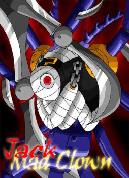 Jack   Mad Clown by rongs1234