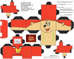 Alvin Show: Alvin Cubee by TheFlyingDachshund