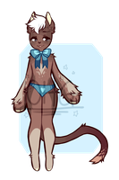 Chocolate Babe - Anthro Adopt Auction [RE-UPLOAD] by OperaHouseGhost