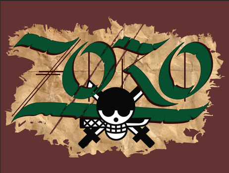 Zoro Calligraphy by DayMae