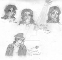 MJ Collage 2 (not finished) by gokuschichi4818