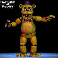 UCN Fredbear - Poster by GamesProduction