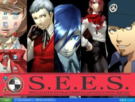 SMT: Persona 3 Desk Top by Picup
