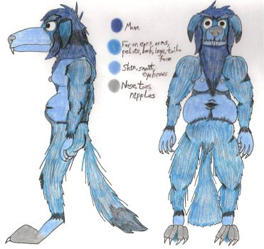 Dawg: Reference by BlackBlueDawg